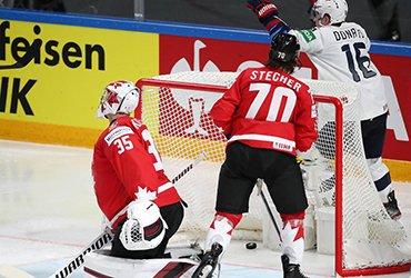 Канада впервые в истории проиграла 3 стартовых матча на ЧМ