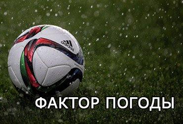Факторы погоды и поля в футбольном прогнозировании