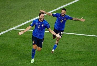 Сборная Италии уверенно выиграла группу А и прошла в плей-офф Евро-2021