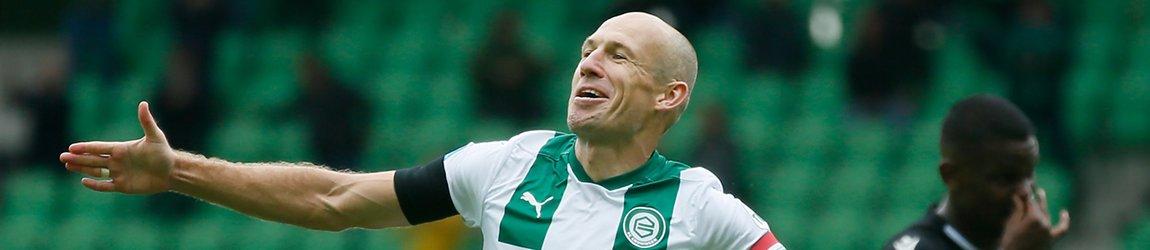 Арьен Роббен завершил карьеру в родном клубе «Гронинген»