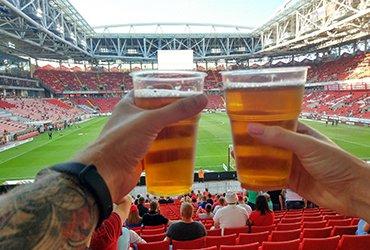 Улучшение финансового состояния российского футбола — возвращаем пиво на стадионы!