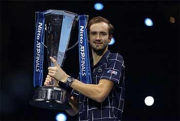 Даниил Медведев победил на  Итоговом турнире ATP в Лондоне