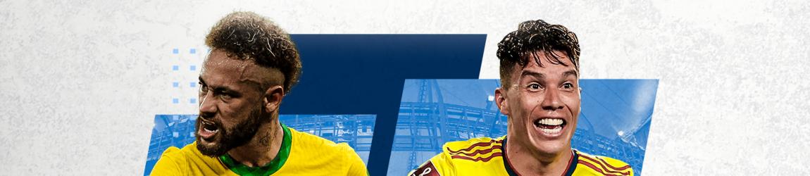 «Ставка без риска» от 1xBet на топовый матч Кубка Америки: Бразилия – Колумбия