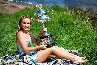 София Кенин во главе чемпионской гонки