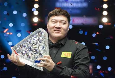 20-летний китайский снукерист Ян Бинтао стал самым молодым чемпионом Masters