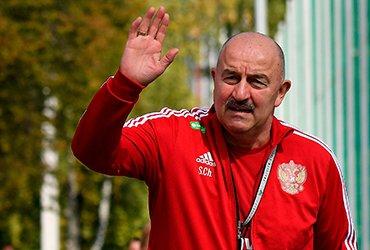 Станислав Черчесов уволен с поста главного тренера сборной России