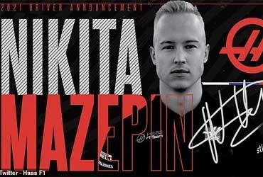 Компания Haas представила Никиту Мазепина как своего первого пилота в новом сезоне