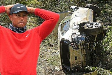 Тайгер Вудс серьезно пострадал в аварии, но уже состояние легенды стабильное