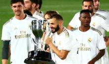 Футбольный Мадрид ликует