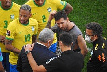 Матч Бразилия-Аргентина был перенесен из-за скандала