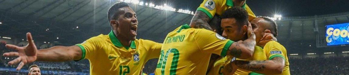 Бразилия - Перу. Копа Америка. Финал