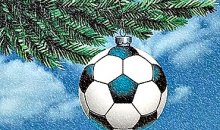 Футбольная Европа встречает Рождество