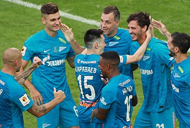«Зенит» без проблем выиграл суперкубок России