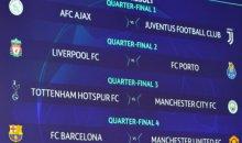 Итоги жеребьевки 1/4 финала Лиги чемпионов УЕФА