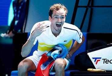 Даниил Медведев впервые сыграет в четвертьфинале Australian Open